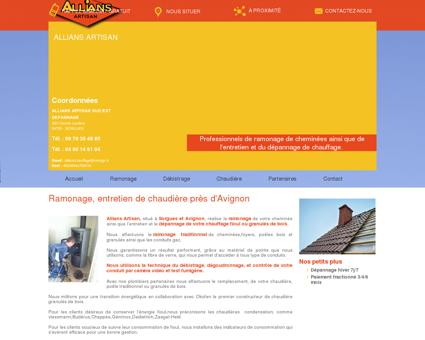 Allians Artisan; Entretien chaudières fioul,...