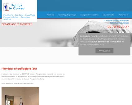 Plomberie Vannes - EURL PATRICK LE CORVEC :...