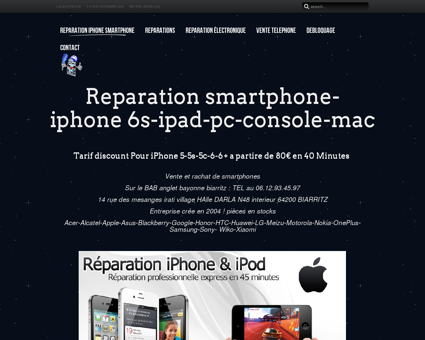 Reparation iphone smartphone