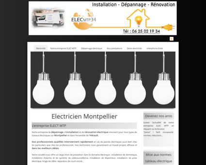 Electricien de Montpellier ELEC-MTP