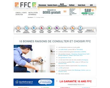 FFC Chauffage, SAV dépannage et Isolation