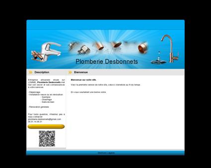 Plomberie Desbonnets -depannage 24h/24 -...
