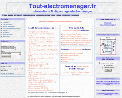 Tout-electromenager.fr - Informations &...