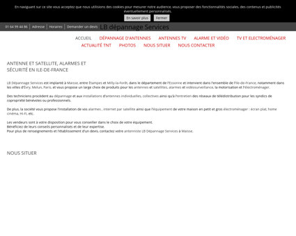 Antenne et satellite - LB depannage Services...