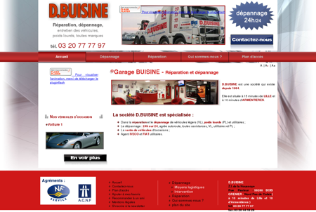 Garage poids lourds Lille, garage voiture moto,...