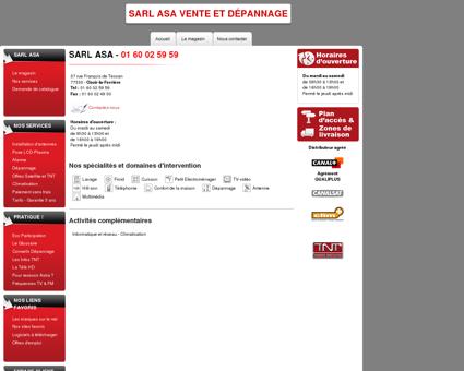 OZOIR (77) Sarl ASA Vente et Dépannage...