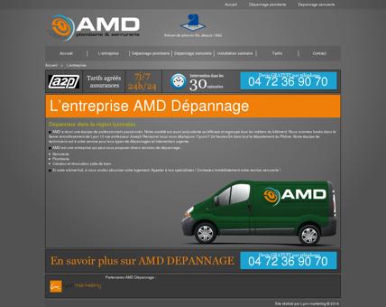 L'entreprise - AMD Dépannage - Serrurier Lyon ...