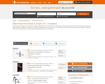 Dépannage informatique à Juvigny (51) |...