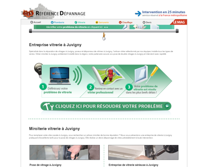 Vitrier à Juvigny : dépannage de vitrages à...