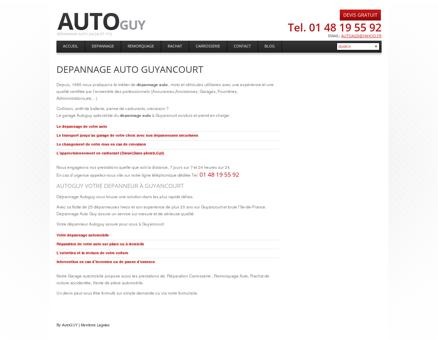 Depannage Auto Guyancourt