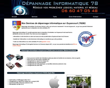 Dépannage Informatique Guyancourt (78280)