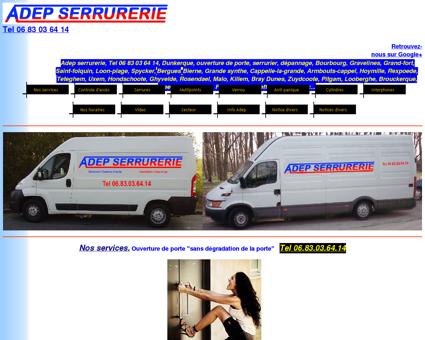 Adep serrurerie Tel 06 83 03 64 14 Dunkerque...