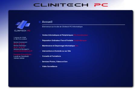 Clinitech PC   dépannage maintenance vente...