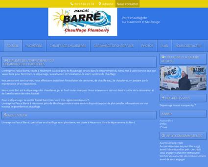 Mr Barré Pascal à Hautmont dans le Nord (59)