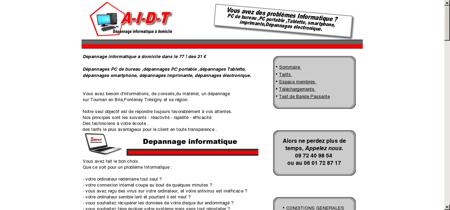 AIDT - depannage informatique à domicile...