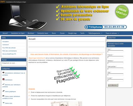 DMPC | Assistance informatique en ligne