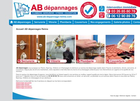 Accueil AB dépannages Reims - ab dépannage,...