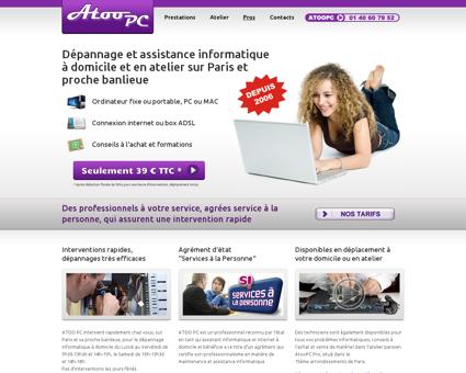 AtooPC - Dépannage Informatique à Domicile  ...