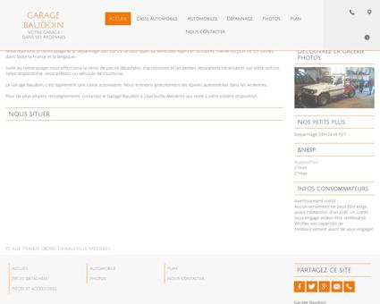Garage Baudoin à Charleville-Mézières dans...