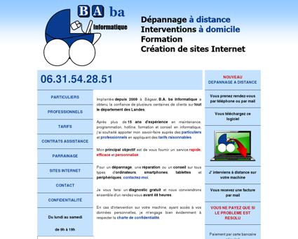 BAba Informatique - Dépannage informatique...