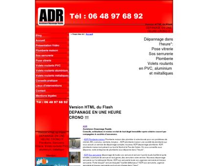 Assistance Dépannage Rapide ADR