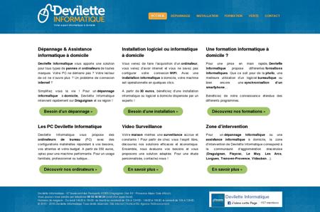 Devilette Informatique : Dépannage &...