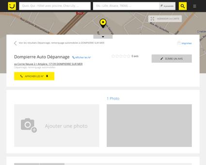 Dompierre Auto Dépannage Dompierre sur...