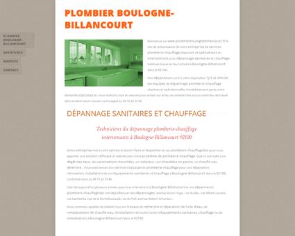 Plombier Boulogne-Billancourt - 09 72 42 53...
