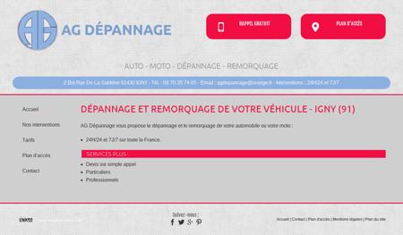 Accueil, remorquage moto - Paris | Ag...