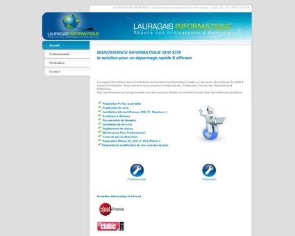 Accueil - Lauragais Informatique - Dépannage...
