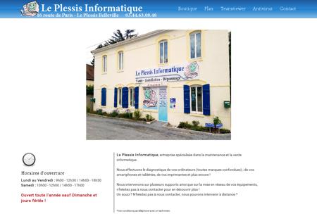 Le Plessis Informatique | Dépannage...