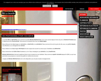 Dépannage serrurerie - Moreau Multiservices à...
