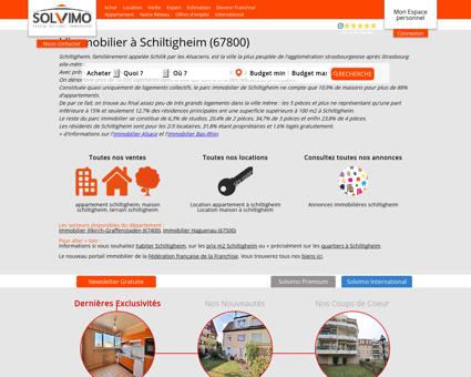 Immobilier Schiltigheim Solvimo