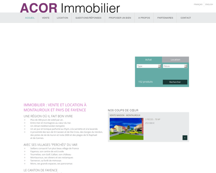Immobilier à Montauroux, Fayence et Callian |...