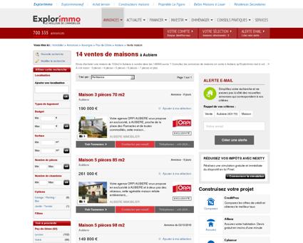 7 ventes de maisons à Aubiere - Immobilier...