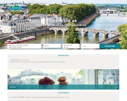 immobilier Angers, Doue La Fontaine, Trelaze,...