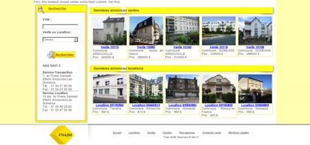 Savi 3 Immobilier : Locations, Ventes et Gestion
