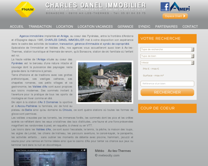 Charles Danel Immobilier - Immobilier Ax-les...