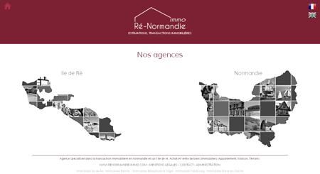 Ré-Normandie Immo : Agence spécialisée dans...