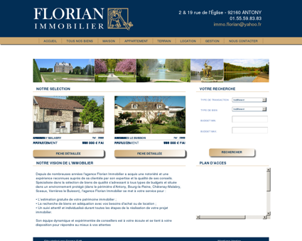 AGENCE FLORIAN IMMOBILIER - Agence...