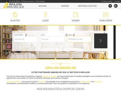 Arpajon Immobilier, Essonne (91)  location,...