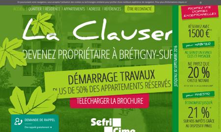Immobilier neuf Brétigny (91220) | La Clauserie...