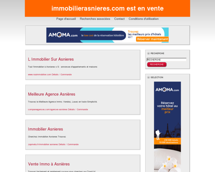 Immobilier Asnieres