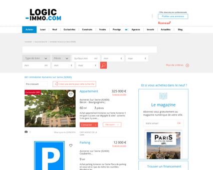 Immobilier Asnieres sur Seine (92600)