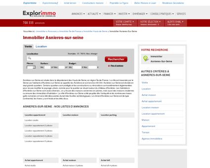 Immobilier Asnieres-sur-seine : annonces...