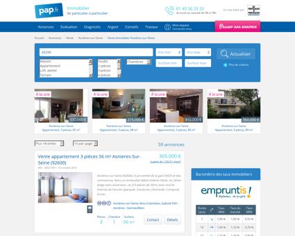 Vente Immobilier Asnières-sur-Seine (92600) |...