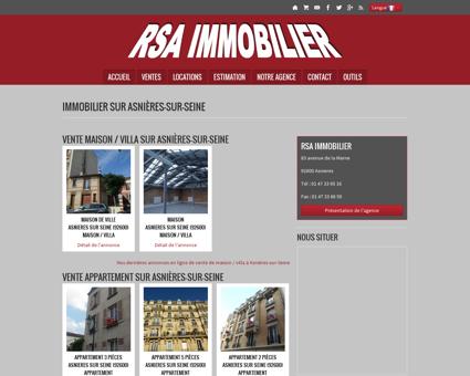 Immobilier Asnieres Seine | rsaimmobilier.com