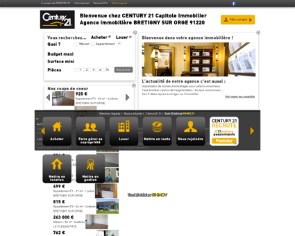Agence immobilière BRETIGNY SUR ORGE...