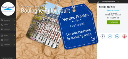 Guy Hoquet l'Immobilier Boulogne-Billancourt...