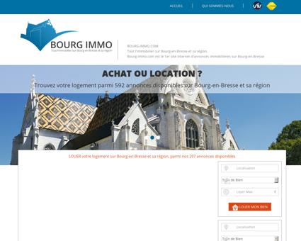 IMMOBILIER BOURG EN BRESSE, location...